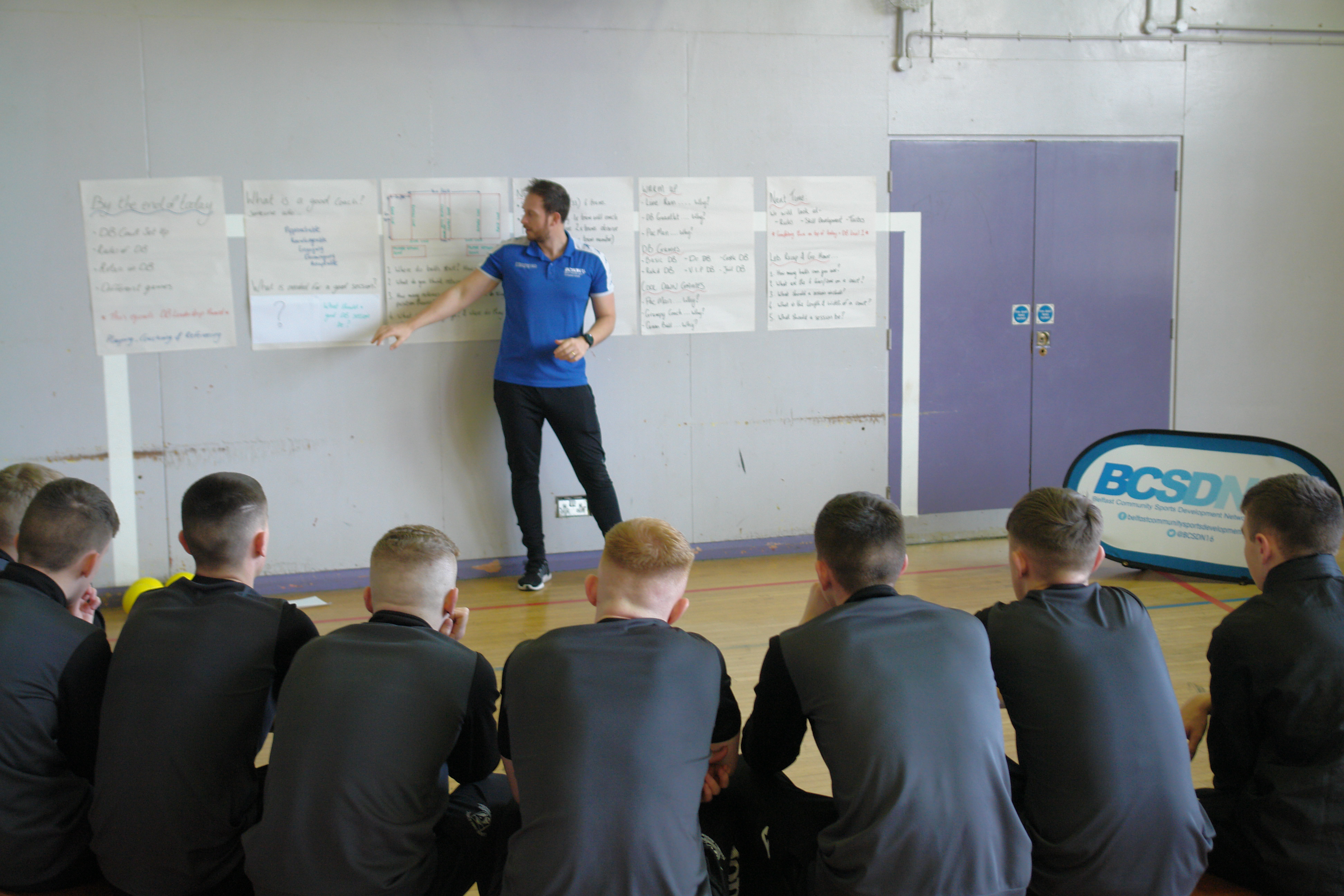 JH Teaching Dodgeball