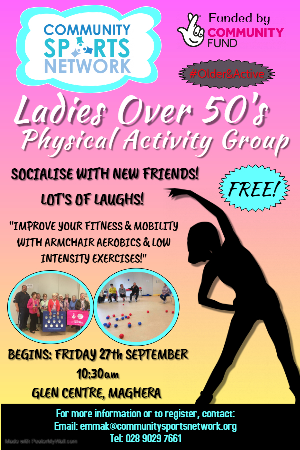 Maghera Over 50s Ladies Group - Made with PosterMyWall (1)